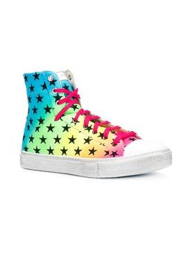 Amiri - Star Print High Top Sneakers - Men