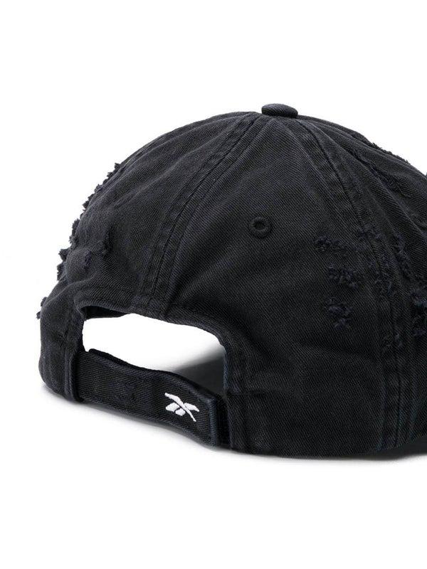 47d19953 Vetements x Reebok Sunday distressed cap
