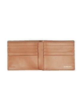 Burberry - Monogram Motif Leather Bifold Wallet - Women