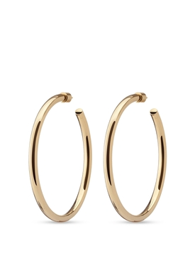 GOLD-TONE LILLY HOOPS