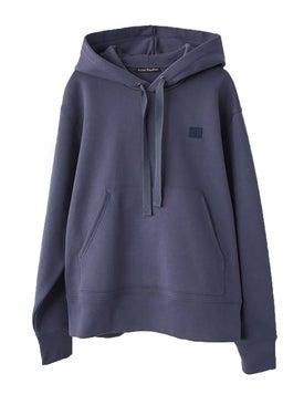 Acne Studios - Ferris Face Hoodie Blue - Sweatshirts