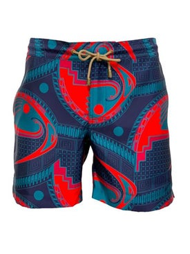 Thorsun - Mata Print Titan Swim Shorts - Men