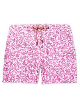 Thorsun - Titan Pescado Swim Shorts Pink - Men