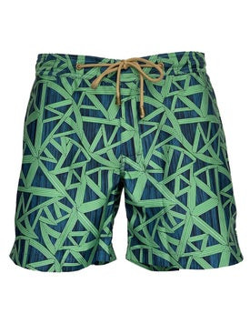 Thorsun - Titan Shatter Swim Trunks Green - Men