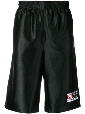 Alexanderwang - High Shine Jersey Shorts Black - Men
