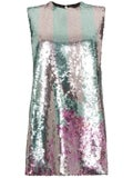Halpern - Sequin Embellished Mini Dress - Women