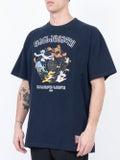 Vetements - Cartoon T-shirt Navy - Men