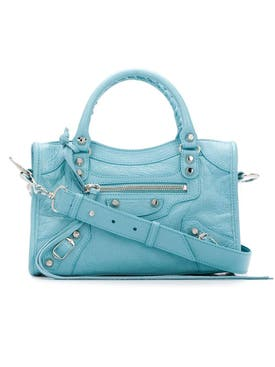 Balenciaga - Classic Mini City Bag Sky Blue - Women