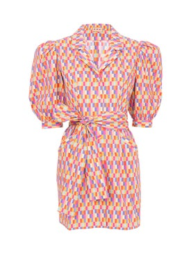 Lhd - Bright Checks Casitas Dress - Women