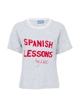 Lhd - Spanish Lessons Tee, Grey - Women