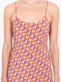 Lhd - Bright Checks Wynwood Slip Dress - Women
