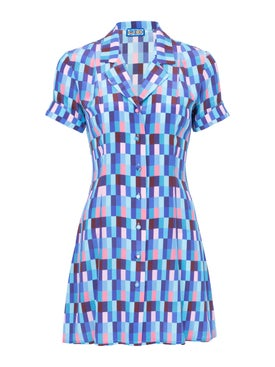 Lhd - Blue Clemenceau Dress - Women