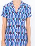 Lhd - Blue Clemenceau Dress - Women