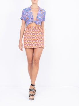 Lhd - Bright Checks Claude Skirt - Women