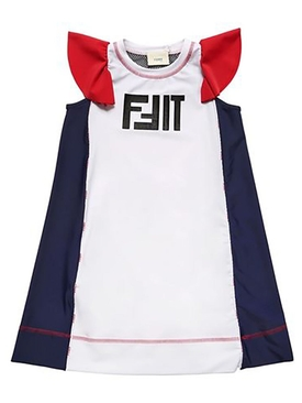 10Y Girls FIT Sport Dress MULTICOLOR