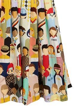 Fendi Kids - Fendi Friends Dress - Kids