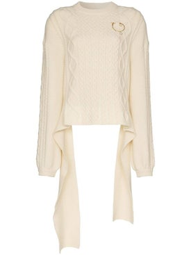 Magda Butrym - Braid City Cable-knit Sweater - Women