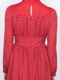 Valentino - Polka Dot Midi Dress - Women