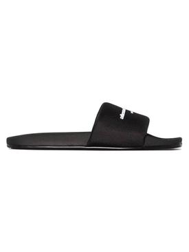 Nylon pool slide, black