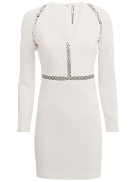Alexanderwang - Long Sleeve Mini Dress White - Women