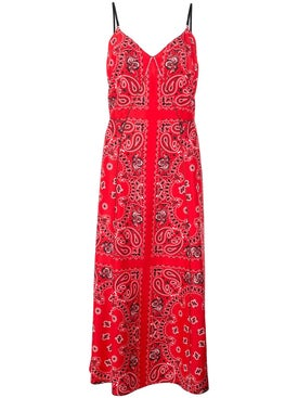 Alexanderwang - Bandana Print Midi Dress - Women