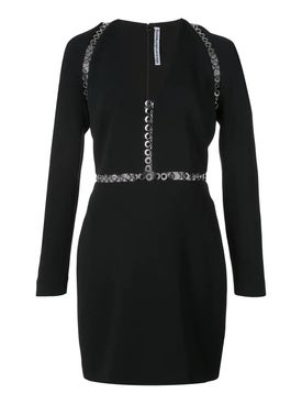 Alexanderwang - Long Sleeve Mini Dress Black - Women