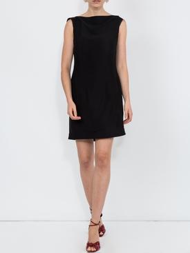 open back short dress