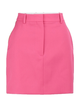 Side-stripe mini skirt PINK