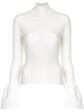 Alexanderwang - Bell Sleeve Top White - Women