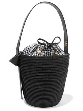 Black Gingham Lunchpail