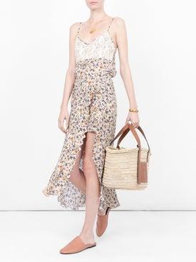 Chloé - Floral Print Asymmetric Skirt - Women