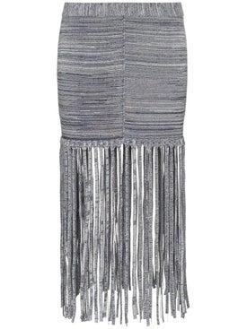 Chloé - Fringe Detail Skirt - Women
