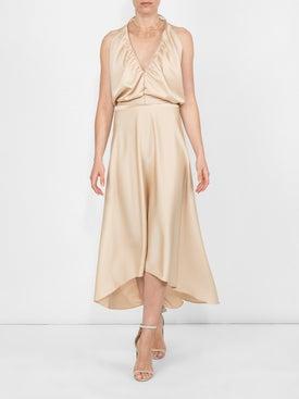 Chloé - Deep V-neck Fluid Dress - Women