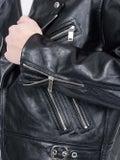 Enfants Riches Deprimes - Mick Jagger Astrology Leather Jacket - Men