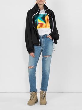 shell windbreaker jacket BLACK