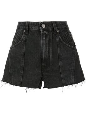 Givenchy - Raw Edge Denim Shorts - Women