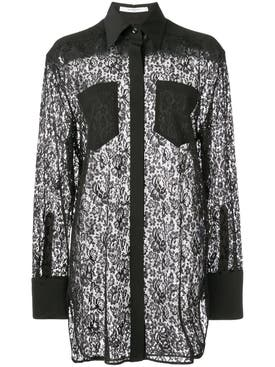 Givenchy - Lace Blouse Black - Women
