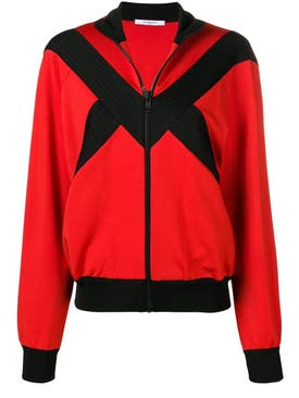 Givenchy - Contrast Panel Zipped Jacket - Women