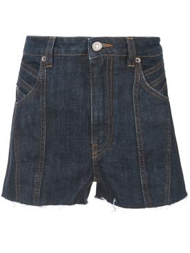 Classic denim shorts BLUE
