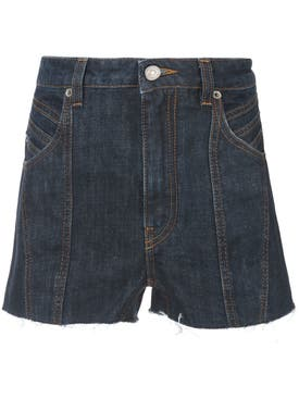 Givenchy - Classic Denim Shorts Blue - Women