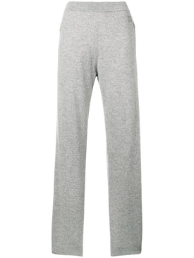 cashmere track trousers