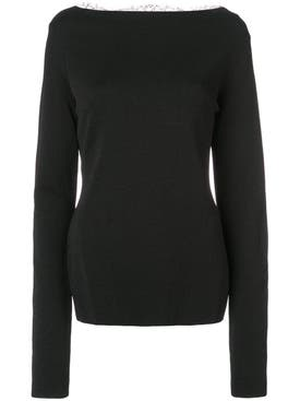 Givenchy - Lace Back Sweater - Women