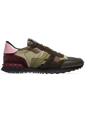 Valentino - Rockrunner Sneakers Green - Men