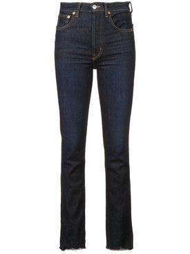 Re/done - Double Needle Jeans - Women
