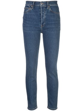 Re/done - High Rise Skinny Jeans - Women