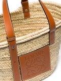 Loewe - Raffia Medium Basket Bag - Women