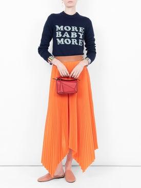 Loewe - Asymmetric Pleated Skirt - Women