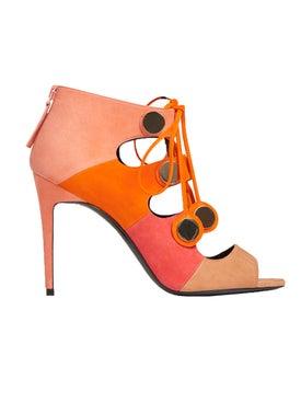 Pierre Hardy - Pink Penny 100mm Sandal - Women