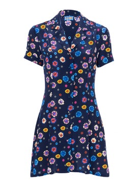 Lhd - Navy Clemenceau Dress - Women