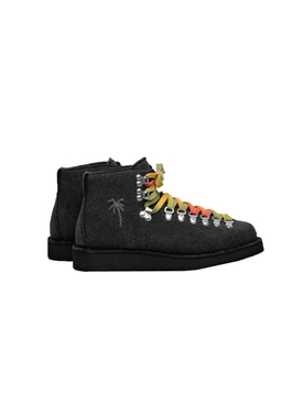 Diemme x The Elder Stateman psychedelic hiking boots BLACK